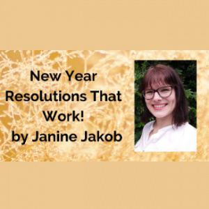 MMM Online Workshop - New Year Resolutions That Work - Lunchtime
