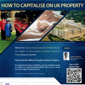 Learn how to build your own empire [Property event]