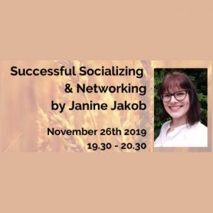 MMM Online Workshop - Successful Socializing  & Networking