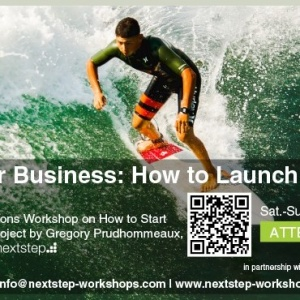 Oct 22-23 - Jumpstart your Business: How to Launch your Next Project by Greg Prudhommeaux