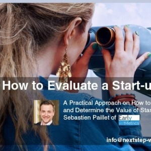 June 21 - How to evaluate a start-up growth potential by Early Metrics