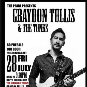 ​COUNTRY LIVE at the PEARL SALOON / Live music with GRAYDON TULLIS and The Hongkou Tonks – Friday 28th of July