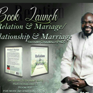 Relationship & Marriage Book Launch / Lancement du Livre