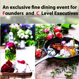July 26 - Founders and C Level Executives Dinner