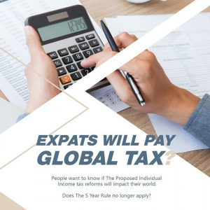 Seminario: Expats in China will pay Global Tax (?)