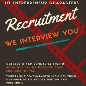 Hunting 20 entrepreneurs interview