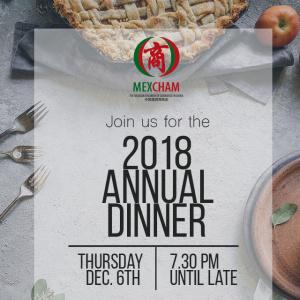 MEXCHAM 2018 Annual Dinner