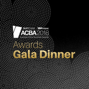 2018 ACBA Gala Dinner - SOLD OUT