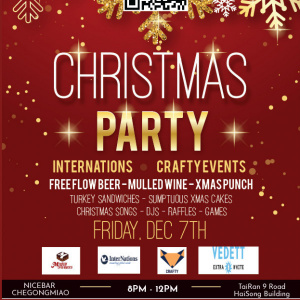 Internations & Crafty Christmas Party