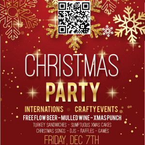 Crafty & Internations Christmas Party