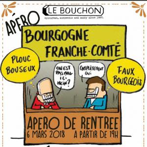 Apero des Bourguignons Franc-Comtois