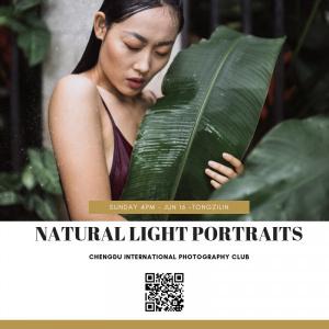 June 16 - Natural light portraits