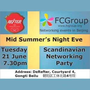 June 21 – Mid Summer's Night Eve networking Scandinavian style