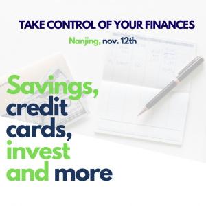 Take control of your finances - Nanjing