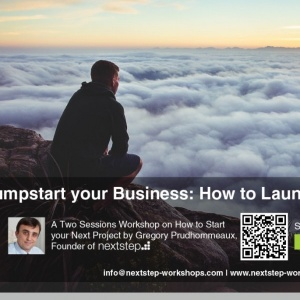 Sep 3 & 4 - Jumpstart your Business: How to Launch your Next Project by Greg Prudhommeaux