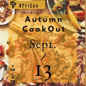 AfriCon Autumn Cookout