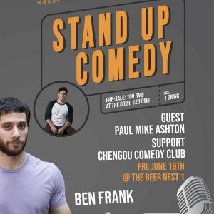 June 19: Ben Frank Standup Comedy