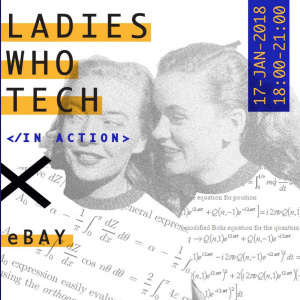 Ladies Who Tech in Action x eBay