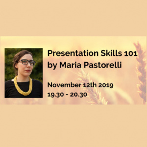 MMM Online Workshop - Presentation Skills 101